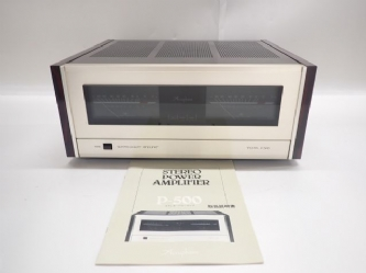 Accuphase アキュフェーズ ステレオパワーアンプ P-500 説明書付き ∬ 62FA1-6